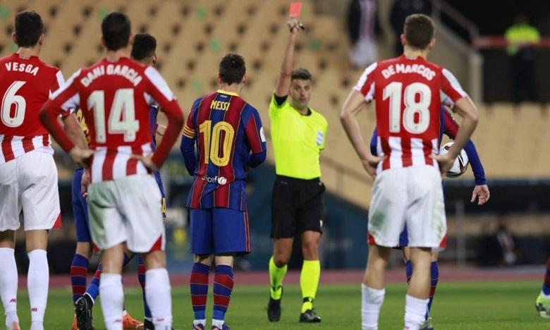 برشلونة يقرر الطعن على إيقاف ميسي