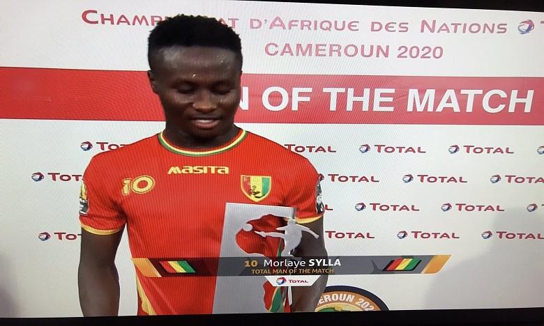 الغيني سييلا أحسن لاعب في مباراة ناميبيا