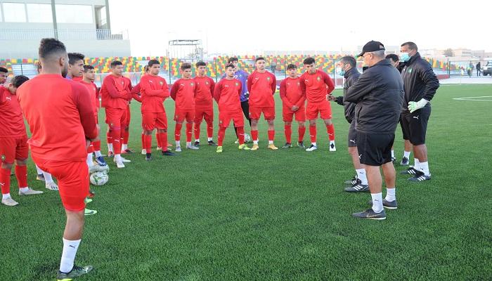 الأشبال يخوضون آخر حصة قبل ملاقاة تونس