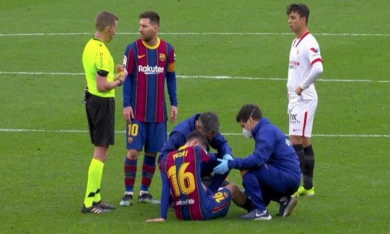 برشلونة يفقد لاعبه بيدري بسبب الإصابة