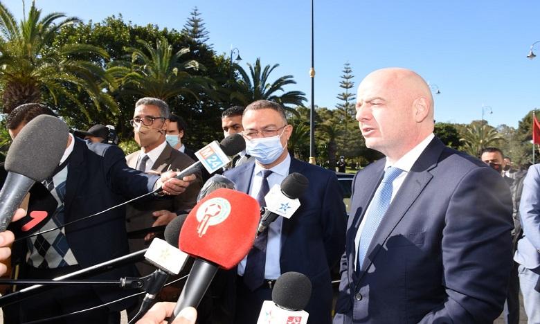 إنفانتينو: المغرب قاطرة في مجال تطوير كرة القدم