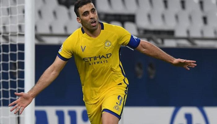 حمد الله يواصل الغياب عن مباريات النصر