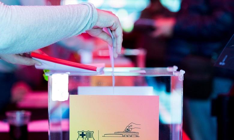 1900 شخص يتولون تنظيم انتخابات رئاسة برشلونة