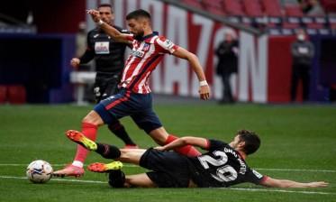 أتلتيكو مدريد يفوز علي إيبار بخماسية نظيفة