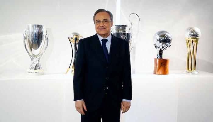 بيريز يقدم رسمياً ترشيحه لرئاسة ريال مدريد