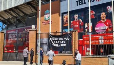 جماهير ليفربول ترفض المشاركة في دوري السوبر الأوروبي