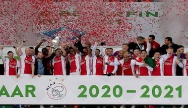 الأجاكس يتوج بكأس هولندا
