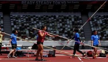 الملعب الأولمبي في طوكيو يستضيف تجربة لألعاب القوى دون جماهير