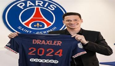 دراكسلر يمدد تعاقده مع باريس سان جيرمان
