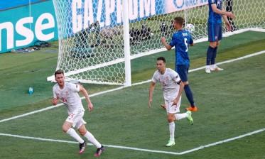 إسبانيا تقسو على سلوفاكيا بخماسية وتخطف البطاقة الثانية