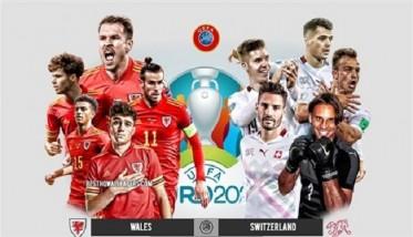 ويلز تتحدى سويسرا في الأورو