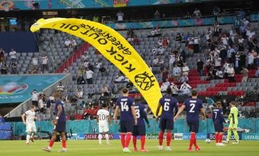القبض على محتجّ كاد يُفسد مباراة ألمانيا وفرنسا