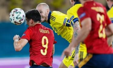 السويد تفرض التعادل على إسبانيا