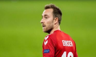 لاعبو الدنمارك سعداء بزيارة إريكسن