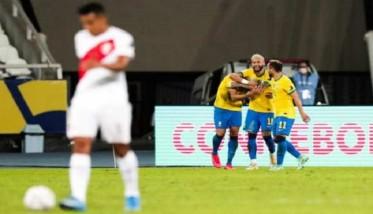 البرازيل تسحق البيرو برباعية نظيفة