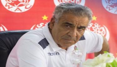 البنزرتي متفائل بتأهل الوداد إلى نهائي دوري الأبطال