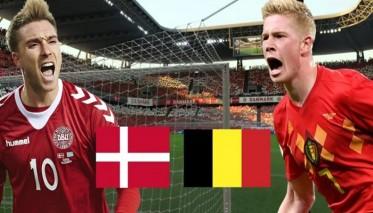بلجيكا تتحدى الدنمارك بهدف التأهل لدور الـ16