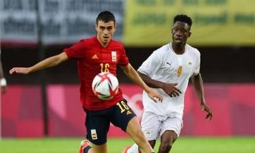 إسبانيا تتأهل لنصف نهائي كرة القدم بأولمبياد طوكيو