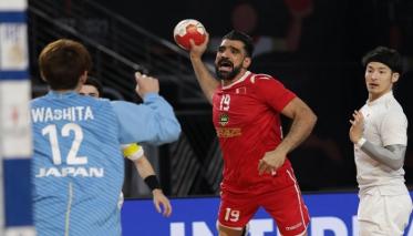 فوز تاريخي لمنتخب البحرين في كرة اليد