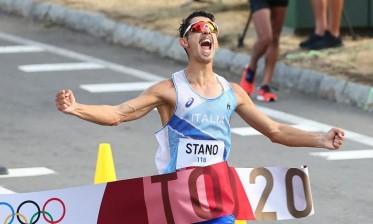 ستانو يمنح إيطاليا ذهبية ماراثون 20 كلم مشي