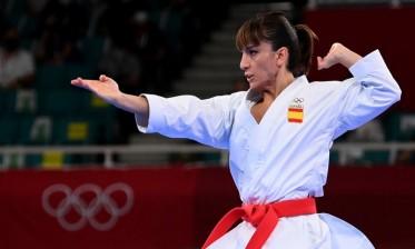 ساندرا أول بطلة أولمبية في لعبة الكاراتيه