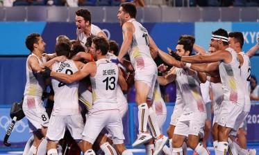 بلجيكا تفوز بذهبية هوكي الرجال