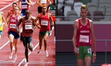 سباق 1500 متر... البقالي ينسحب والصديقي يتأهل والساعي يقصى