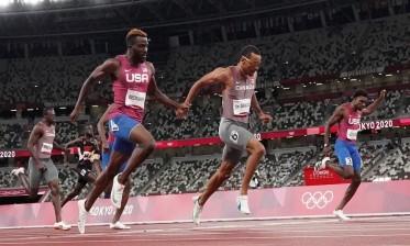 الكندي دي غراس يخطف ذهبية سباق 200 متر