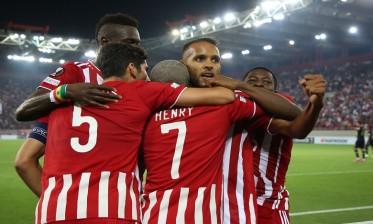 العربي يساهم في فوز أولمبياكوس في الدوري الأوروبي