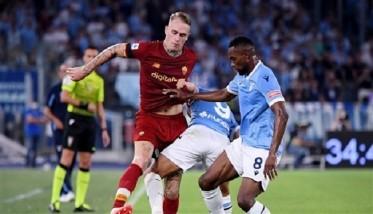 لازيو يهزم روما في مباراة ماراثونية