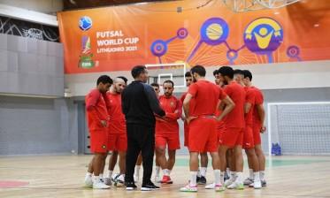 منتخب الفوتسال يواجه التايلاند لحسم التأهل مبكرا