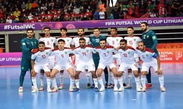 منتخب الفوتسال يواجه البرازيل في ربع نهائي مونديال ليتوانيا