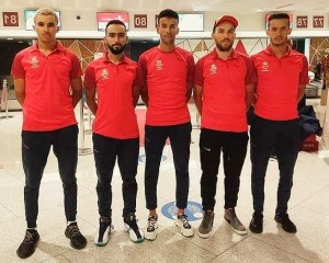 منتخب الدرجات يشد الرحال لبوركينافاسو