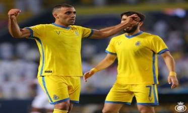حمد الله يساهم في الفوز الكبير للنصر على الوحدة الإماراتي