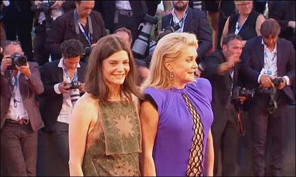 كاترين دونوف بطلة الفيلم الفرنسي 'ثلاثة قلوب'