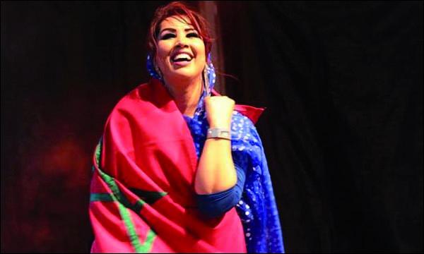 الفنانة المغربية سعيدة شرف