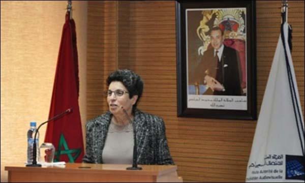 رئيسة 'الهاكا' أمينة لمريني الوهابي (خاص)