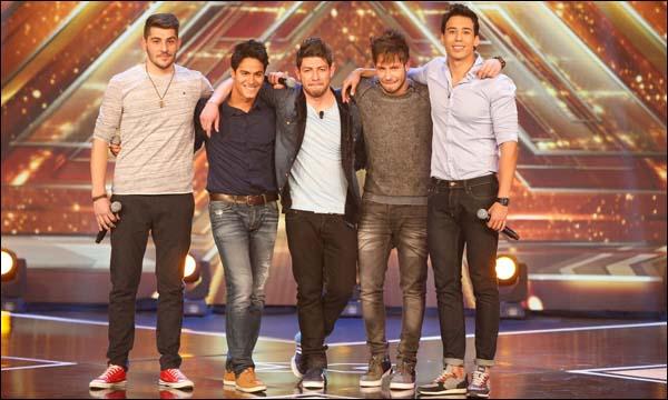 مشاركون في برنامج 'The X Factor'