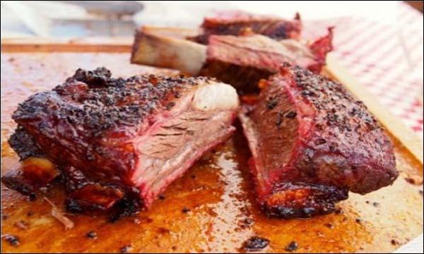 لحم مشوي في الفرن