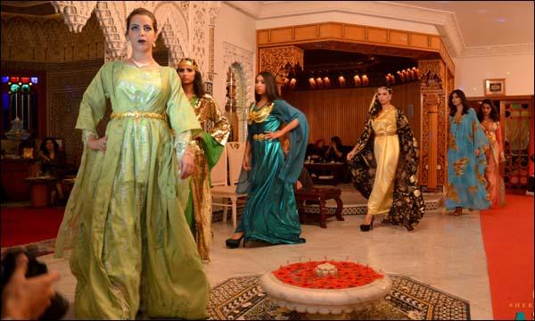 عرض خاص بالأزياء الفلكلورية العراقية نظمته سفارة العراق بالمغرب