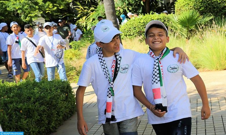 وكالة بيت مال القدس الشريف تنظم الدورة 12 للمخيم الصيفي لأطفال القدس