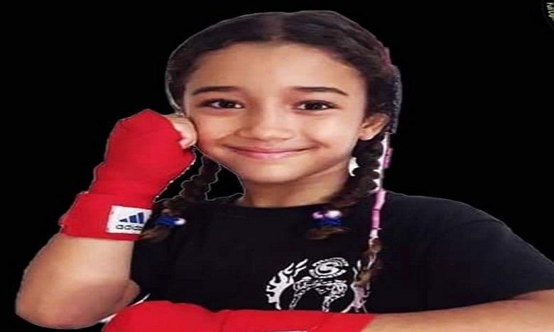 المغربية ماريا الودغيري تحرز لقب البطولة العربية للشادو كيك بوكسينغ عن بعد