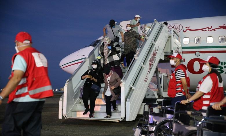 وصول 118 مغربيا من العالقين بموريتانيا إلى مطار الداخلة