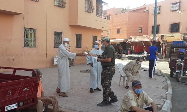 تكثيف سلسلة من التدابير الاحترازية بسبب تزايد حالات الإصابة بفيروس كورونا بعمالة مراكش