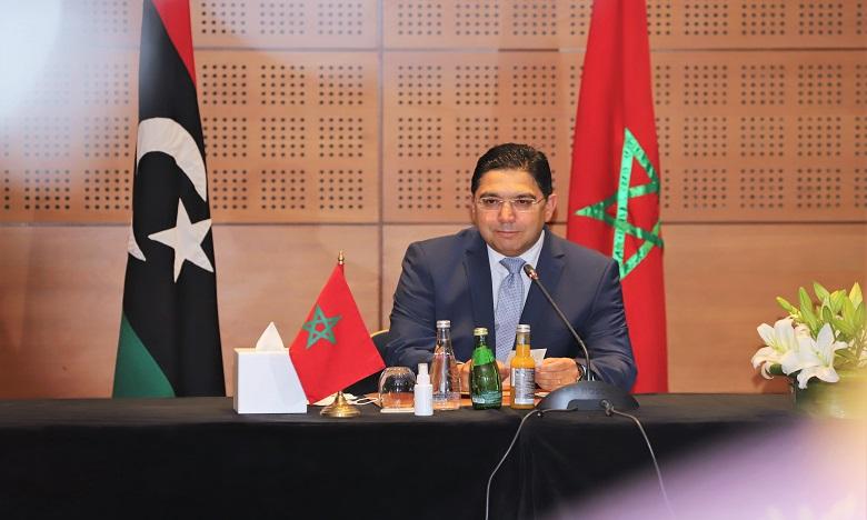 ناصر بوريطة يحث الليبيين باستحضار مقول