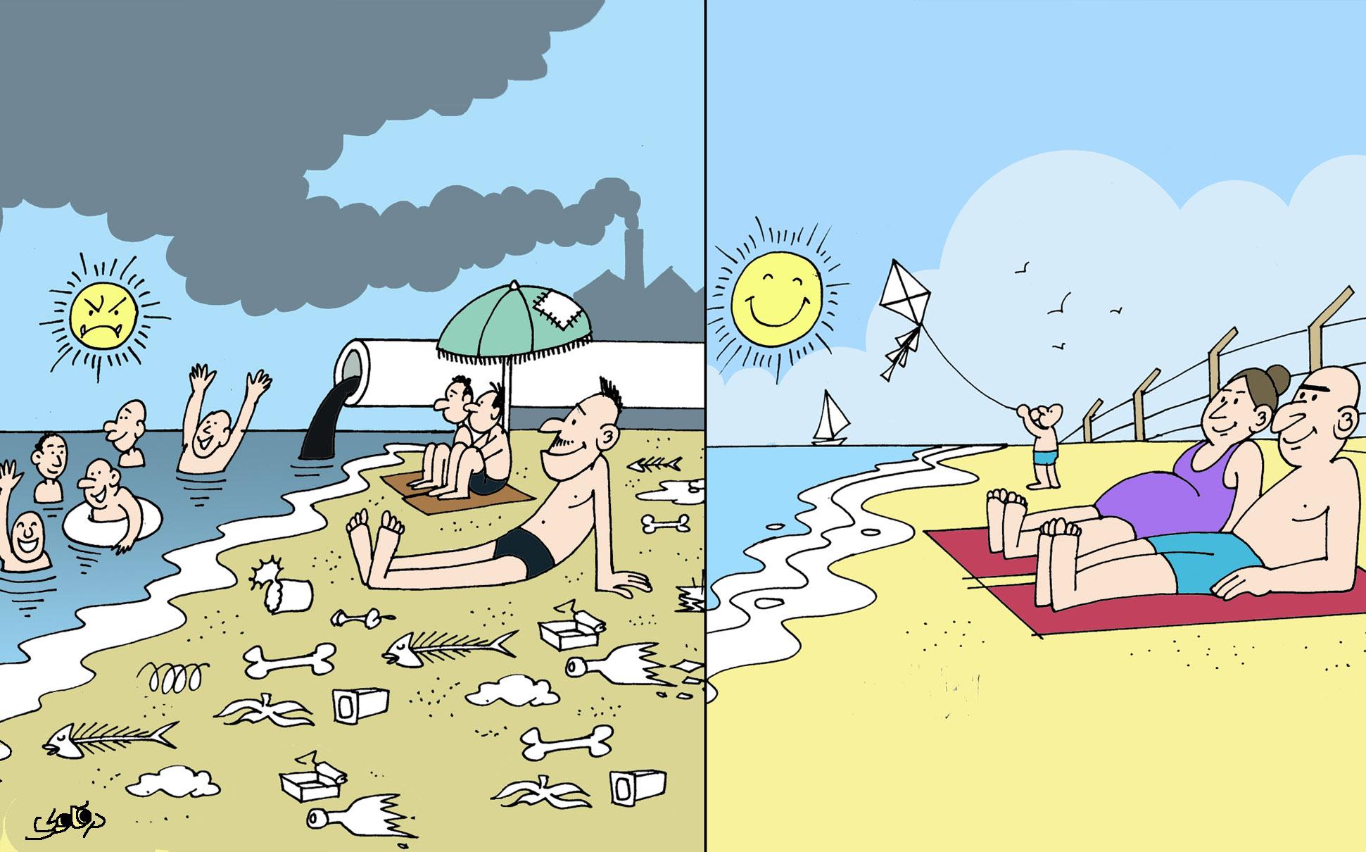 شواطئ وشواطئ