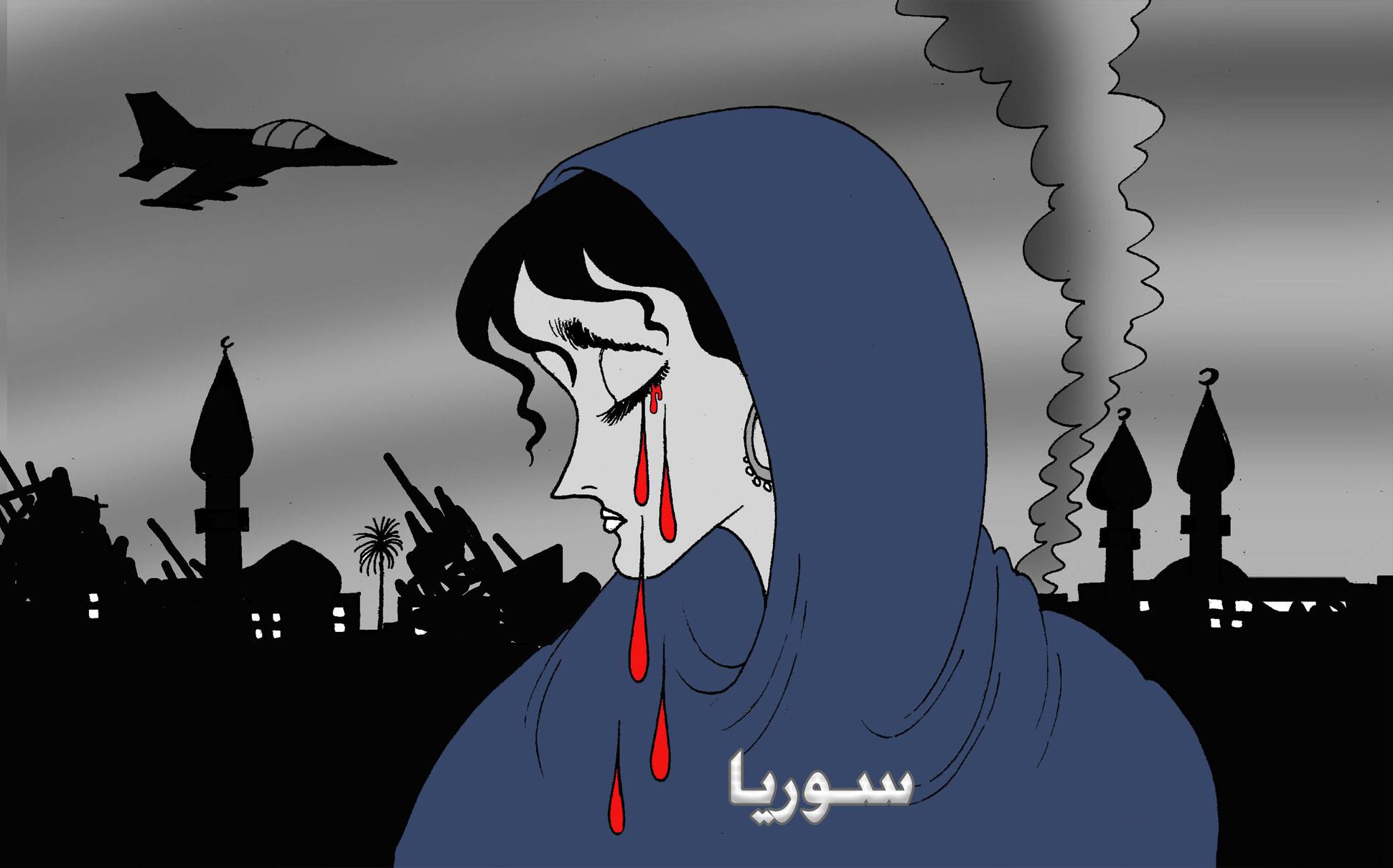 النزيف السوري