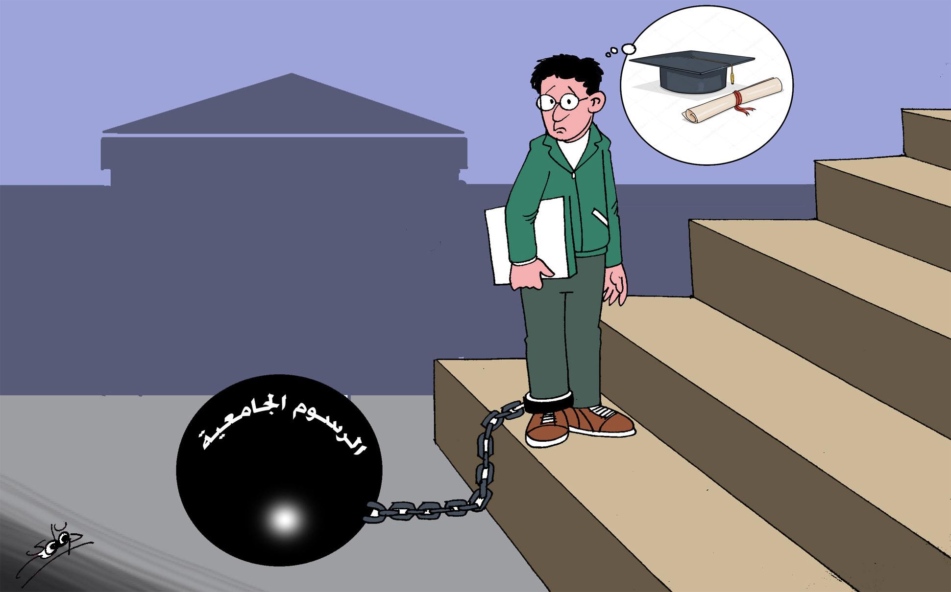 ارتفاع الرسوم الجامعية