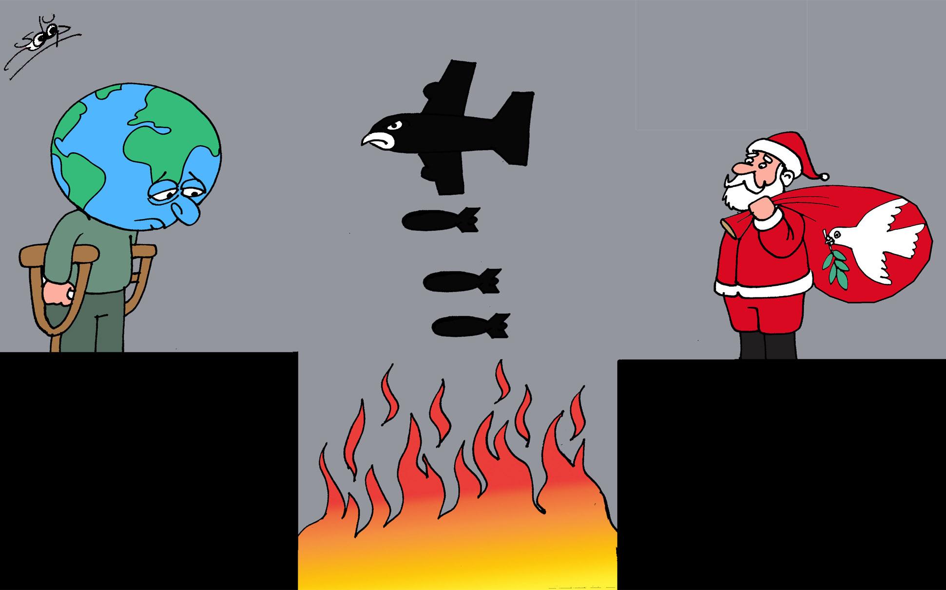 السلام العالمي المفقود