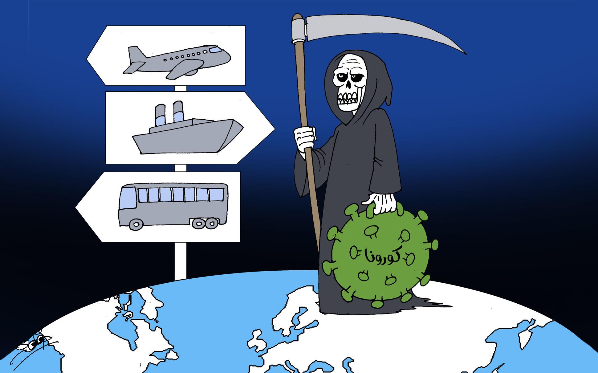 كورونا يتمدد عالميا